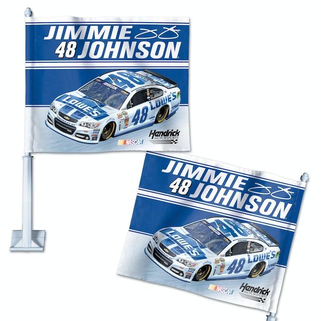 Jimmie Johnson-2014 Car flag