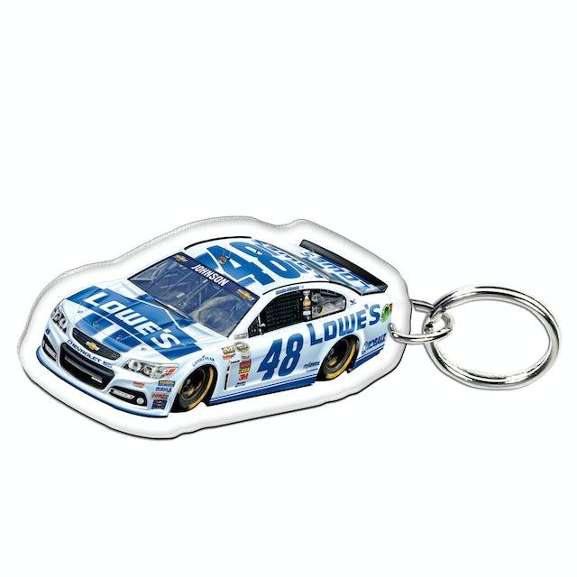 Jimmie Johnson-2014 Premium acrylic mirrored key ring