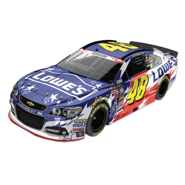 Jimmie Johnson - #48 Lowe's An American Salute 2014 Nascar Sprint Cup Series Diecast 1:24 Scale