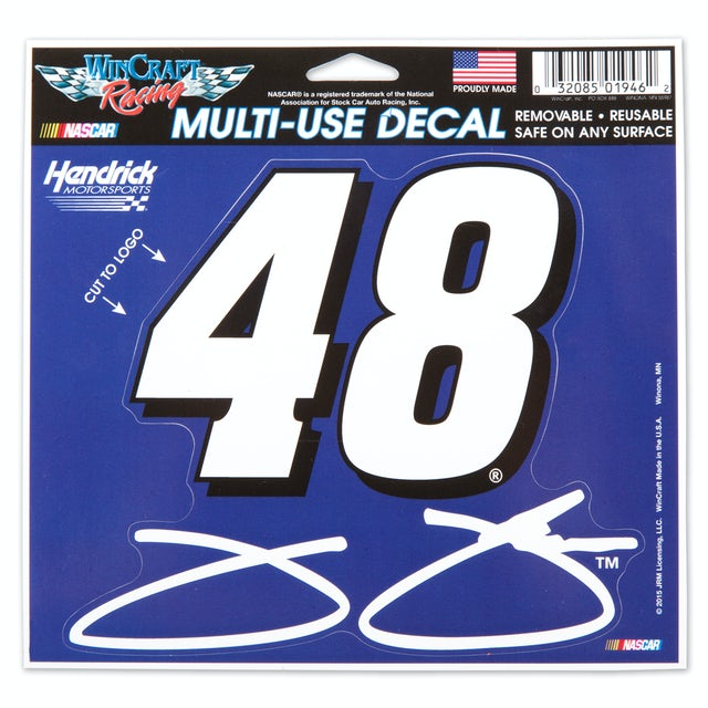 Jimmie Johnson 5X6 Multi-Use Decal