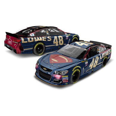 Jimmie Johnson 2016 #48 Superman 1:24 Scale Die-Cast