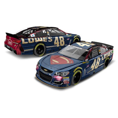 Jimmie Johnson 2016 #48 Superman 1:18 Scale Toy