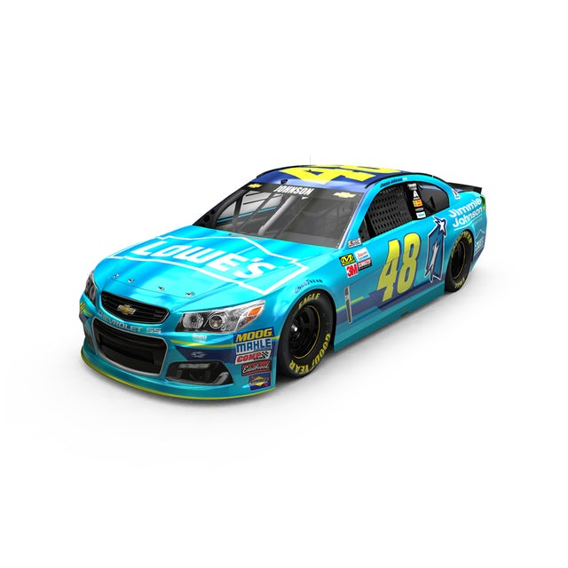Jimmie Johnson 2017 NASCAR Cup Series No. 48 Lowe's Jimmie Johnson Foundation 1:24 Die-Cast
