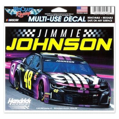 #48 Jimmie Johnson NASCAR 2019 Multi-Use Decal