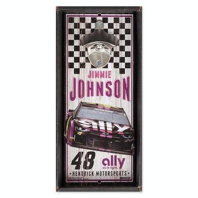 #48 Jimmie Johnson NASCAR 2019 Bottle Opener Sign