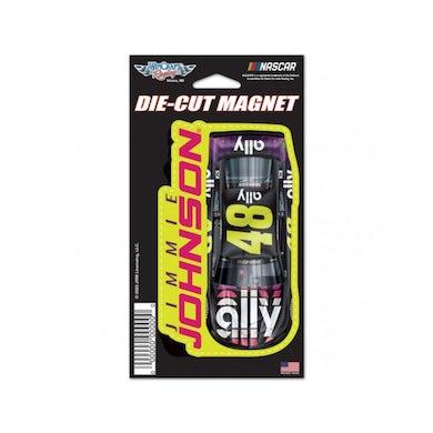 "Jimmie Johnson #48 2020 ally Die Cut Magnet 3"" x 5.375"""