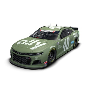 Jimmie Johnson #48 2020 Ally Patriotic NASCAR Cup 1:24 ELITE - Die Cast
