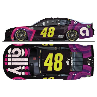 """Jimmie Johnson No. 48 Ally """"Sign for Jimmie"""" NASCAR Cup Series ELITE 1:24 - Die Cast"""