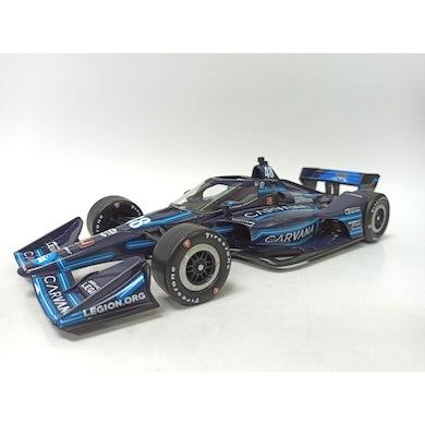 Jimmie Johnson Carvana Blue Steel IndyCar Series 2021 #48 1:18 Diecast