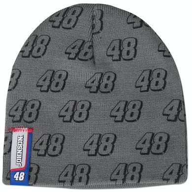 Jimmie Johnson #48 Youth Grey Knit Beanie