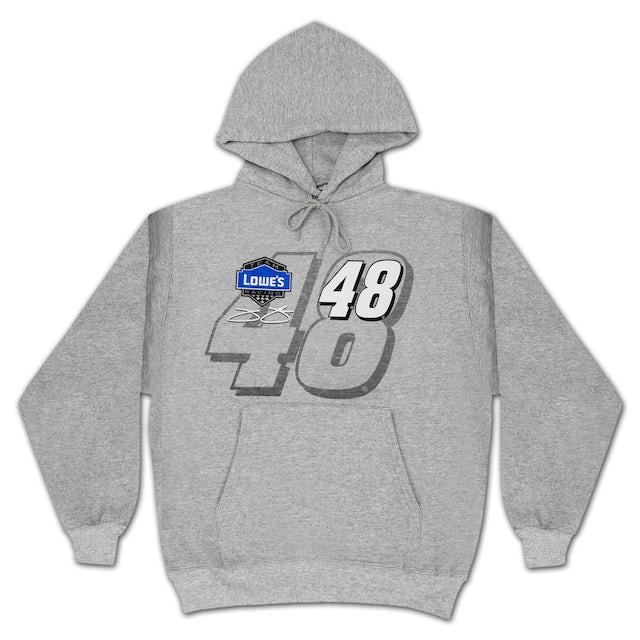 Jimmie Johnson #48 Straight Away Number Hoodie