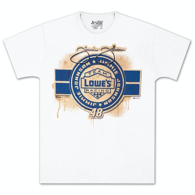 Jimmie Johnson #48 Lowes Straightaway T-shirt