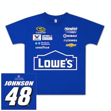 Jimmie Johnson #48 Lowe's Youth Uniform T-shirt