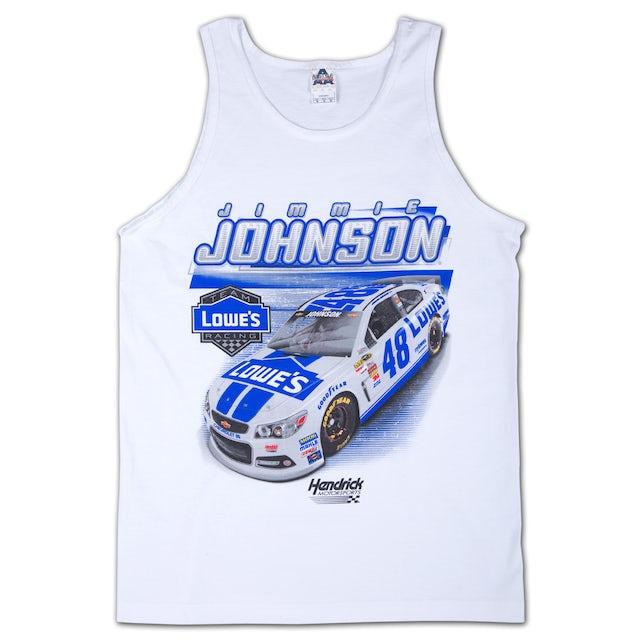 Jimmie Johnson Lowe's Race Tank