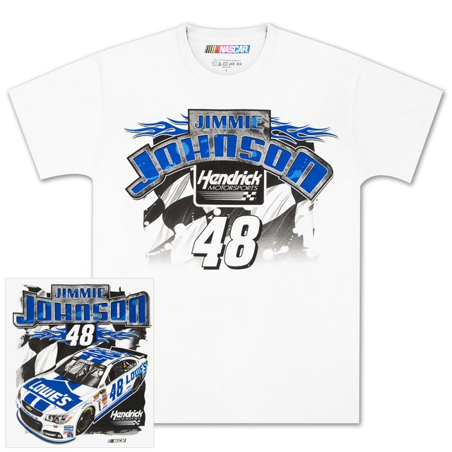 Jimmie Johnson #48 Loud and Proud T-shirt