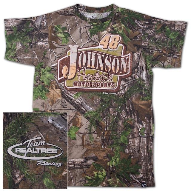 Jimmie Johnson #48 Realtree Xtra Green Blind T-shirt