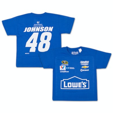 Jimmie Johnson - 2015 Chase Authentics Lowe's Youth Uniform Tee