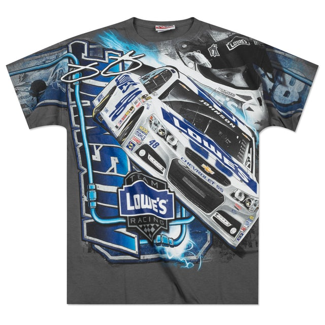 Jimmie Johnson - 2014 Chase Authentics  Lowe's Adult Momentum Total Print Tee