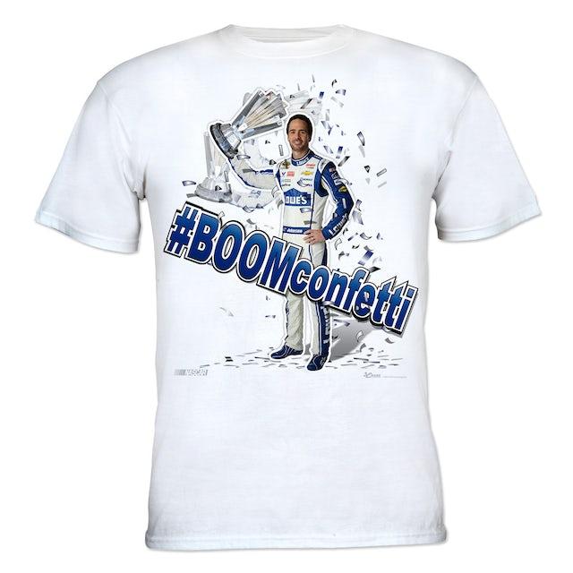 Jimmie Johnson #48 - Lowe's #BOOMconfetti T-shirt