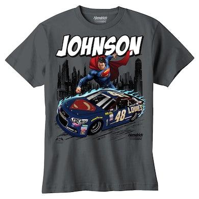 Jimmie Johnson #48 Youth Superman T-Shirt