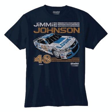 Jimmie Johnson 2017 #48 Darlington Youth Graphic T-shirt