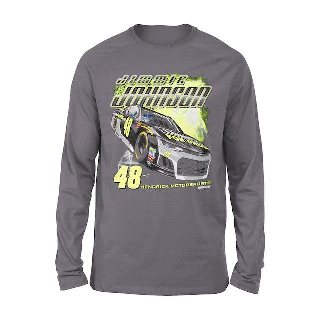Jimmie Johnson #48 2018 Lowe's L/S 2-Spot T-shirt