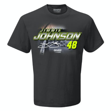 Jimmie Johnson #48 2019 NASCAR Schedule T-shirt