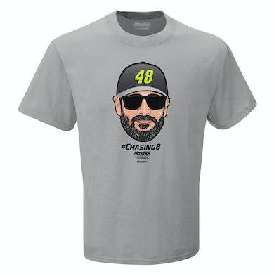 Jimmie Johnson #48 NASCAR Emoji T-shirt