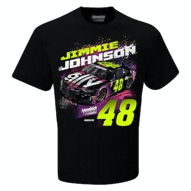 #48 NASCAR Jimmie Johnson Ally Financial Car T-shirt