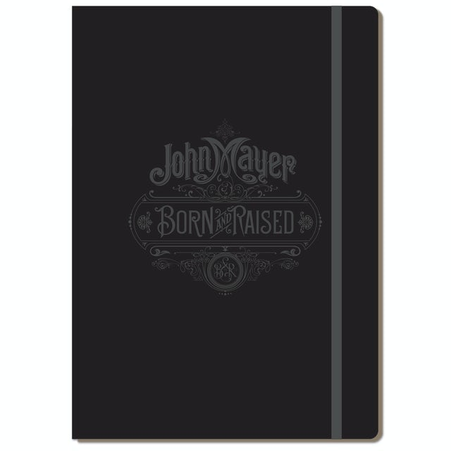 John Mayer Born and Raised A4 Folio Notebook by Moleskine