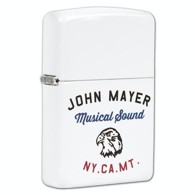 John Mayer Musical Sound Zippo