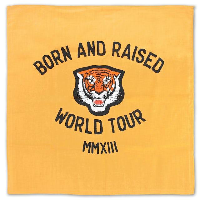 John Mayer Born and Raised Tiger Bandana