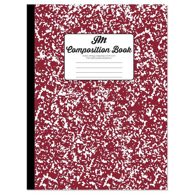 John Mayer Composition Book