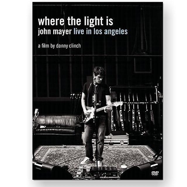 John Mayer Where the Light Is DVD