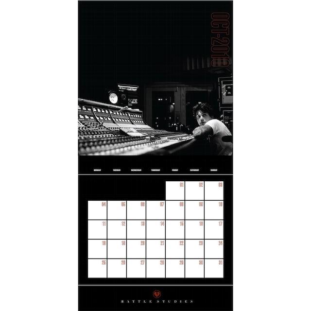 John Mayer Battle Studies 2010 Wall Calendar