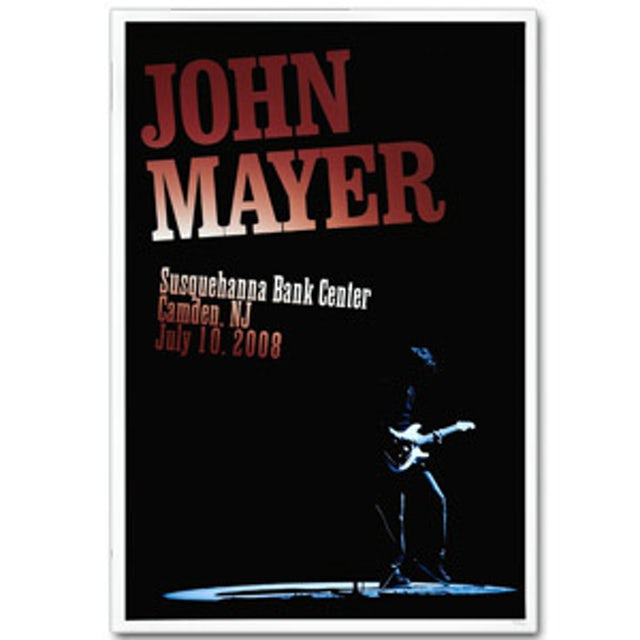 John Mayer - Philadelphia 2008 Tour Poster
