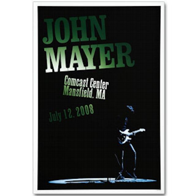 John Mayer - Boston 2008 Tour Poster
