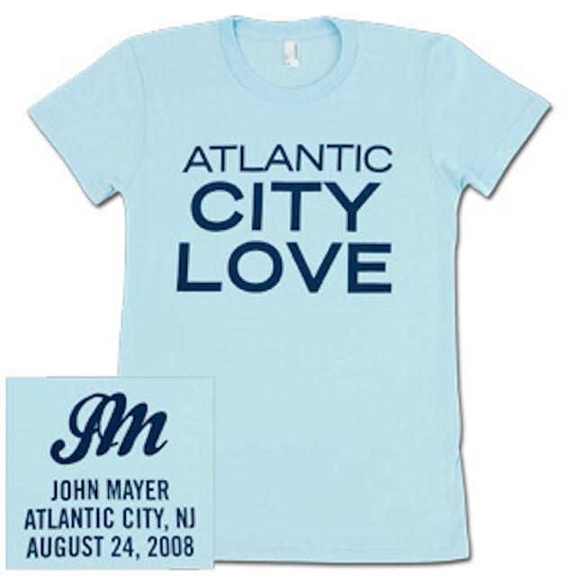 John Mayer - CITY LOVE (Atlantic City) Girls T-Shirt