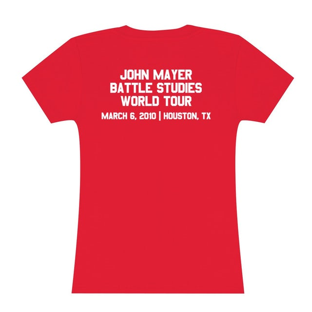 Womens Houston, TX John Mayer Tour Event Tee