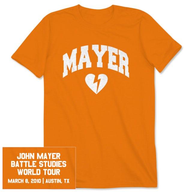 Unisex Austin, TX John Mayer Tour T-shirt