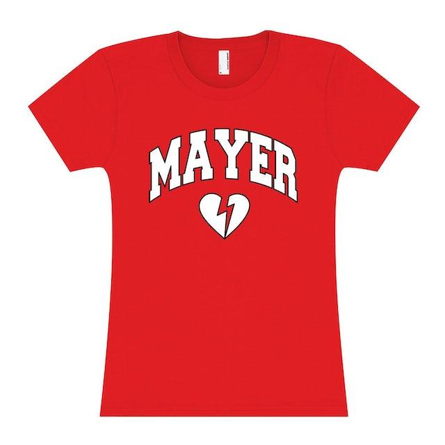 Womens Louisville, KY John Mayer Tour T-shirt