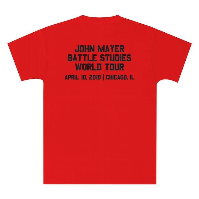 John Mayer Unisex Chicago, IL Event Shirt