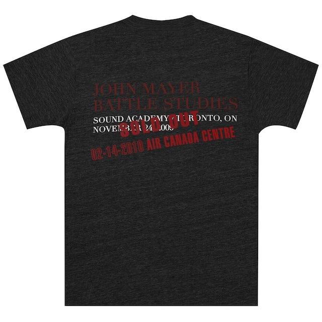 "John Mayer Toronto ""SOLD OUT"" Event T-shirt"