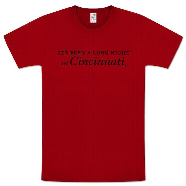 "John Mayer ""It's Been A Long Night In Cincinnati"" Unisex Tour T-shirt"