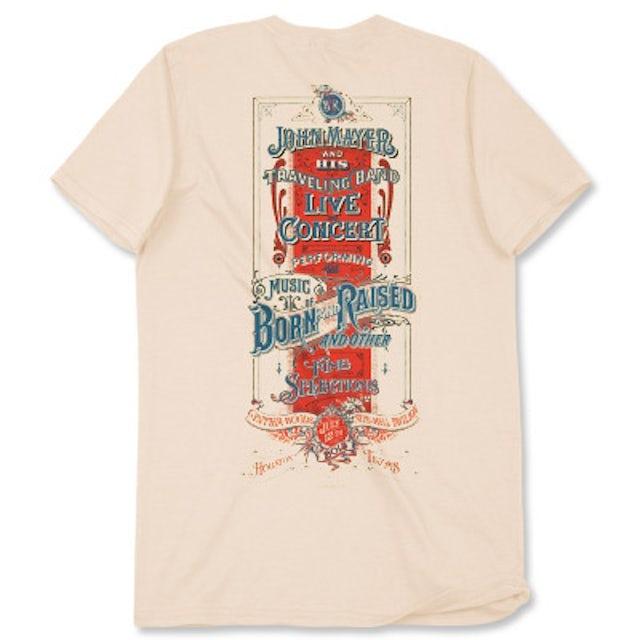 John Mayer Houston Event T-shirt