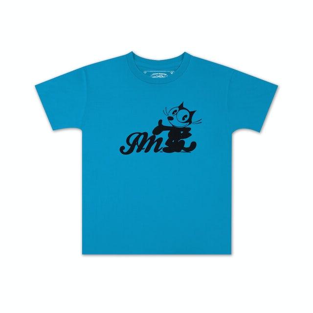 John Mayer Felix The Cat x JM Script Kids T-shirt