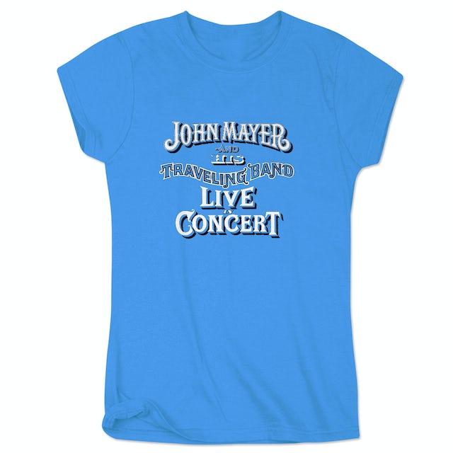 John Mayer Mansfield Ladies Event T-Shirt