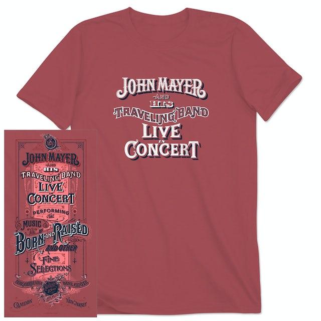 John Mayer Philadelphia Event T-shirt