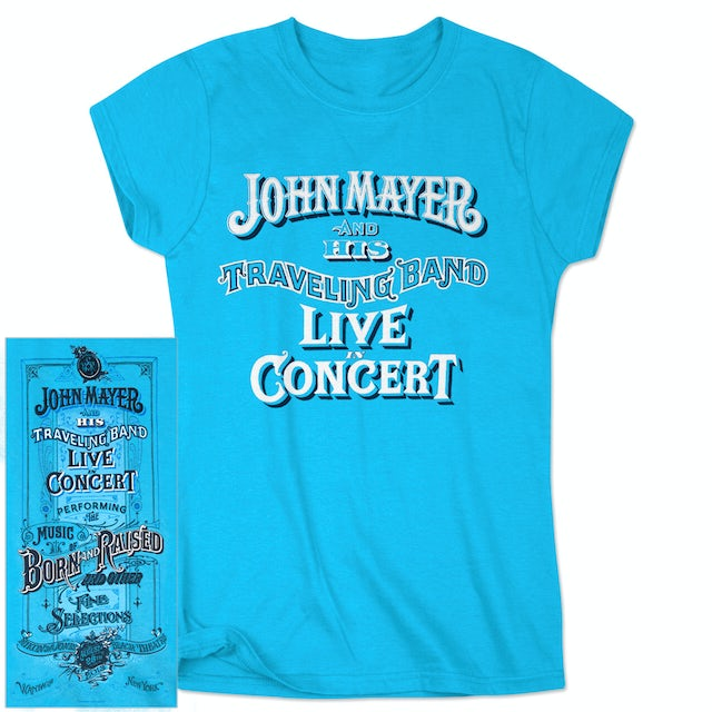 John Mayer Jones Beach Ladies Event T-shirt