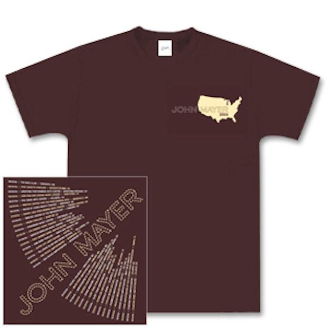 John Mayer 2006 Summer-Fall Tour T-Shirt
